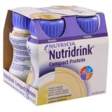 NUTRIDRINK Compact Protein s příchutí Vanilkovou roztok 4x125 ml