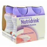 NUTRIDRINK Compact s příchutí Jahodovou roztok 4x125 ml