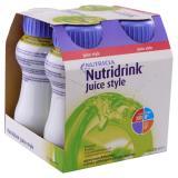 NUTRIDRINK Juice Style roztok s jablečnou příchutí 4 x 200 ml