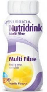 Nutridrink Multi fibre vanilkový por.sol. 4x200ml