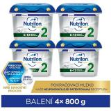 Nutrilon 2 Profutura pokračovací kojenecké mléko 6  4× 800 g