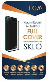 Ochranné sklo TGM Full Cover pro Xiaomi Redmi Note 8 Pro černé