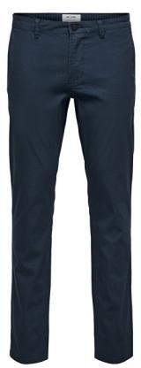 ONLY&SONS Pánské kalhoty Tarp Chino Aop Gd 2432 Bottoms Dress Blues 31/32
