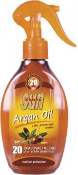 Opalovací mléko s arganovým olejem SPF20 rozprašovací 200ml,Opalovací mléko s arganovým olejem SPF20 rozprašovací 200ml