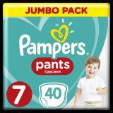 PAMPERS Active Pants 7  40 ks Jumbo Pack – plenkové kalhotky