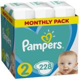 PAMPERS Baby Monthy Box 3x76 ks