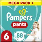 PAMPERS Pants Extra Large vel. 6  - Mega Box