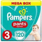 PAMPERS Pants Midi vel. 3  - Mega Box