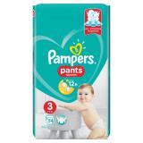 PAMPERS Pants vel.3 VPP 6-11kg Kalhotkové plenky 54 ks