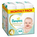 Pampers Pleny Premium Care 4 Maxi  168 Ks