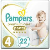 PAMPERS Premium Pants Carry Pack vel. 4