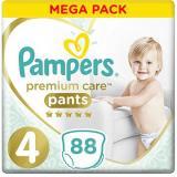 PAMPERS Premium Pants Mega Box vel. 4