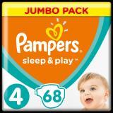 Pampers Sleep & Play 4 Jumbo Pack  68ks