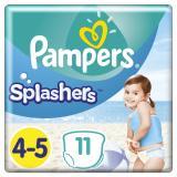 Pampers Splashers Plenkové Kalhotky Do Vody s4-5 11ks