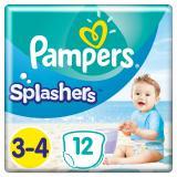PAMPERS Splashers vel.3-4  Plenkové kalhotky do vody 12 ks