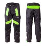 Pánské moto kalhoty W-TEC Rusnac NF-2607 černo-zelená - L