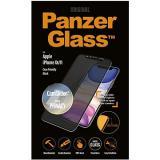 PanzerGlass Edge-to-Edge Privacy pro Apple iPhone XR/11 černé s CamSlider