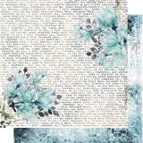 Papír 30,5x30,5 - Blue Magnolia 03 - 13@rts  91468