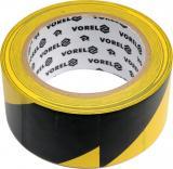 Páska výstražná černožlutá 48 mm x 33 m,