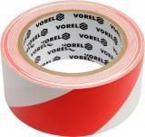 Páska výstražná červenobílá 48 mm x 33 m,