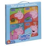 Peppa Pig Moje první knihovnička Rybička Zlatka, Námořník Polly, Nebojácný Želvák,Nejlepší zvířátko