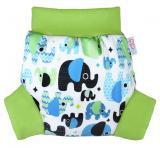 Petit Lulu pull-up svrchní kalhotky Sloníci XL