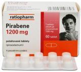 Pirabene 1200 mg perorální tablety film 60x1200mg,Pirabene 1200 mg perorální tablety film 60x1200mg