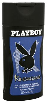Playboy King Of The Game - sprchový gel 250 ml