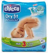 Plenky Chicco Midi 4-9kg, 21 ks,Plenky Chicco Midi 4-9kg, 21 ks