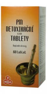 PM Elixír detoxikační tablety 60,PM Elixír detoxikační tablety 60