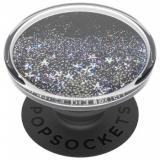 PopSockets PopGrip Gen.2, Tidepool Starring Silver, stříbrné třpytky v tekutině