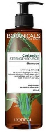 Posilující šampon na jemné a slabé vlasy Botanicals  400 ml