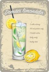Postershop Plechová Cedule: Domácí Limonáda
