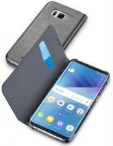 Pouzdro na mobil flipové CellularLine Book Essential pro Samsung Galaxy S8 černé