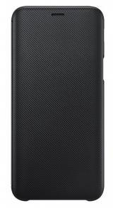 Pouzdro na mobil flipové Samsung Wallet Cover pro Galaxy J6  - černé