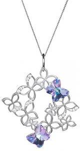 Preciosa Romantický náhrdelník Butterfly Harmony 6057 43