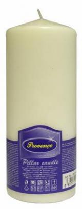 Provence Parafín bílá 6,3 x 16 cm, svíčka ve tvaru válce