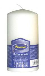 Provence Svíčka parafín válec bílá, 6, 3 x 12, 5 cm
