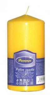 Provence Svíčka parafín válec žlutá, 6, 3 x 12, 5 cm