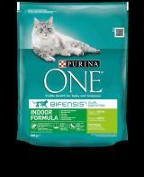 Purina ONE s krůtou Indoor - pro kočky žijící v bytě 3 kg