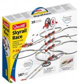 Quercetti Skyrail Race parallel track racing – dvojitá závěsná kuličková dráha
