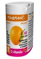 Rapeto C-Vitamin 100 mg - Pomeranč se sukralózou 60 tablet,Rapeto C-Vitamin 100 mg - Pomeranč se sukralózou 60 tablet