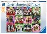 Ravensburger Puzzle 500 Dílků Puppy Pals