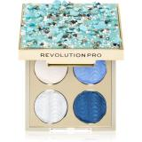 Revolution PRO Ultimate Eye Look paletka očních stínů odstín Ocean Treasure 3,2 g