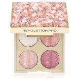 Revolution PRO Ultimate Eye Look paletka očních stínů odstín Quartz Crush 3,2 g