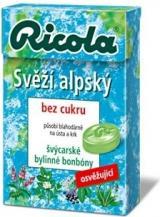 RICOLA Svěží alpský 40g bez cukru,RICOLA Svěží alpský 40g bez cukru