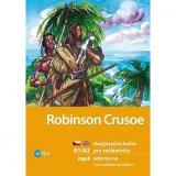 Robinson Crusoe: dvojjazyčná kniha pro začátečníky