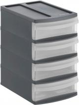 Rotho Úložný box Systemix Tower XS, antracit
