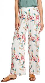 Roxy Dámské kalhoty Beside Me Snow White Tropic Call ERJNP03287-WBK7 L