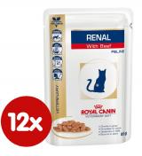 Royal Canin Veterinary Diet Cat Renal Beef Pouch 12x85 g